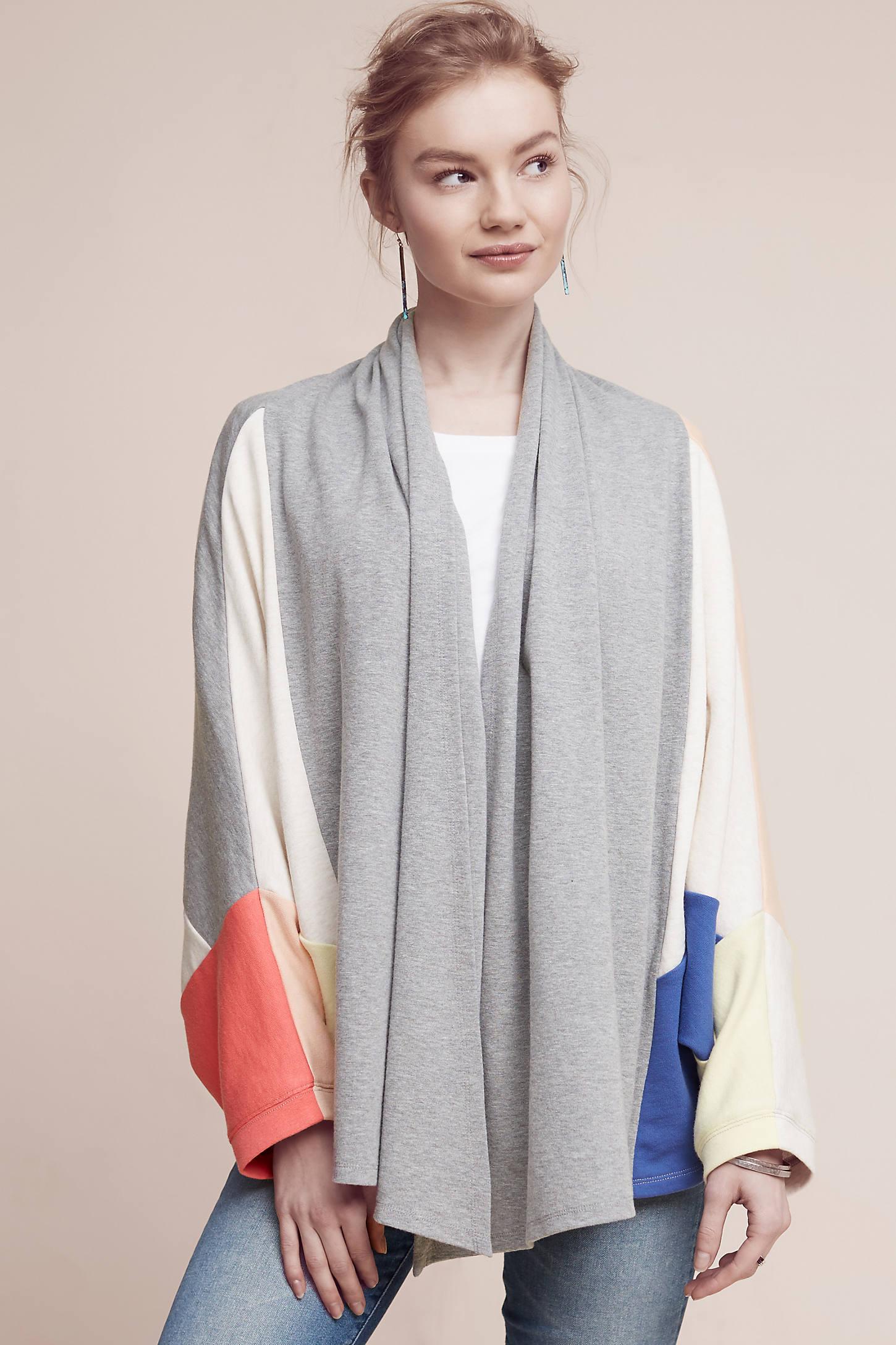 Terry Patchwork Kimono