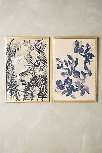 Ink Flora Wall Art