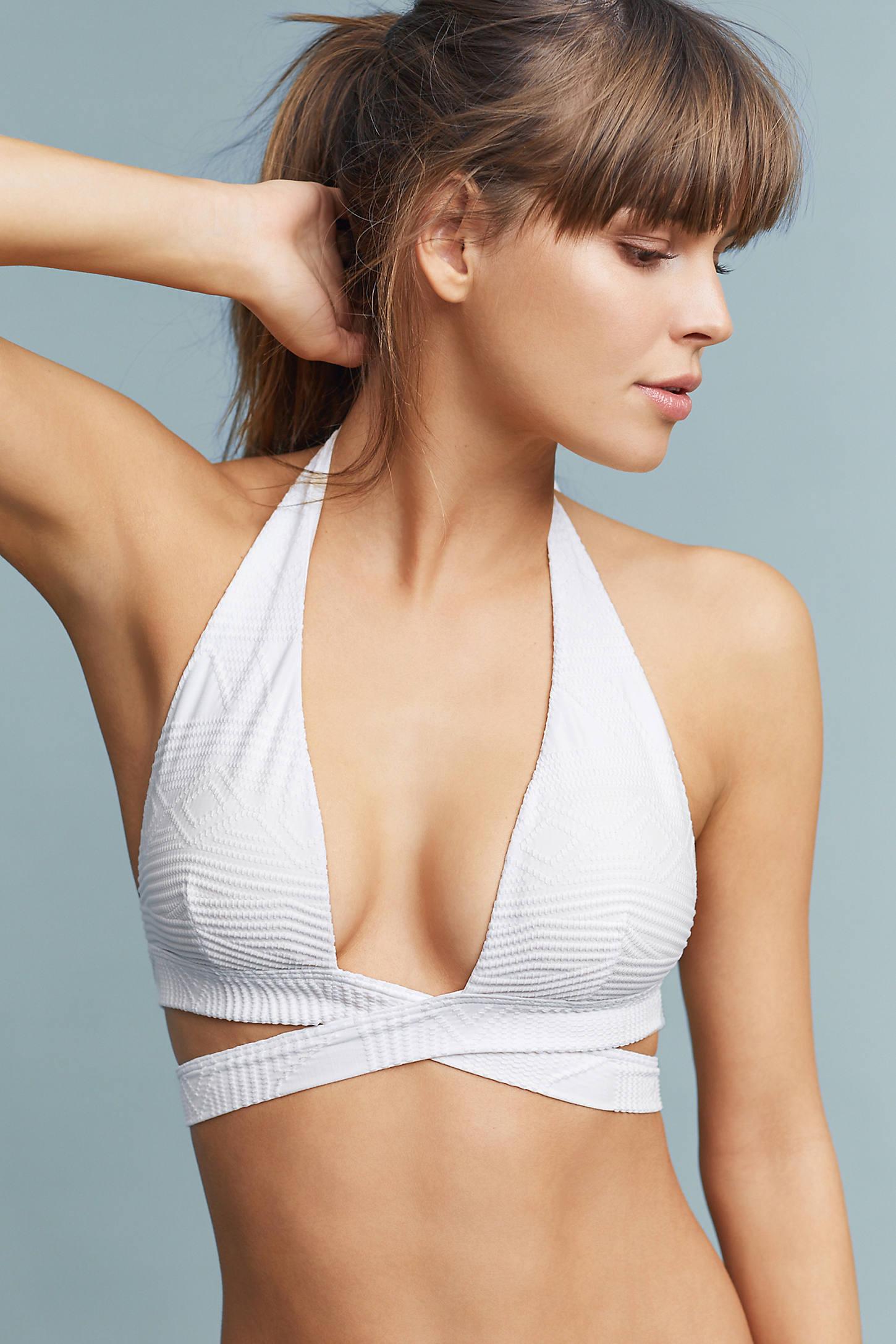 Vitamin A Sirena Wrap Bikini Bikini Top