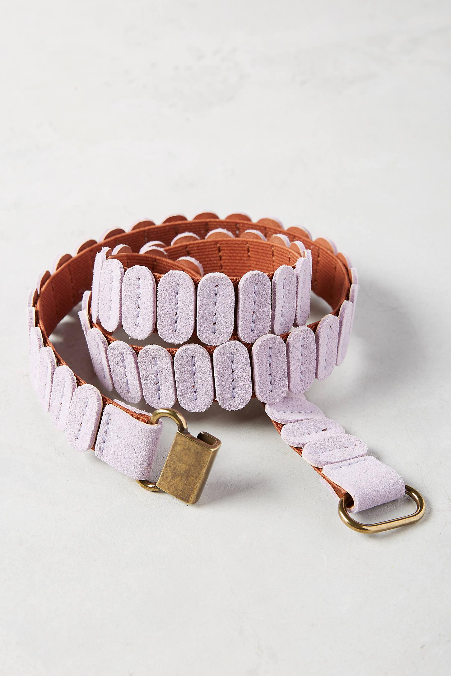 Colorwave Skinny Tab Belt
