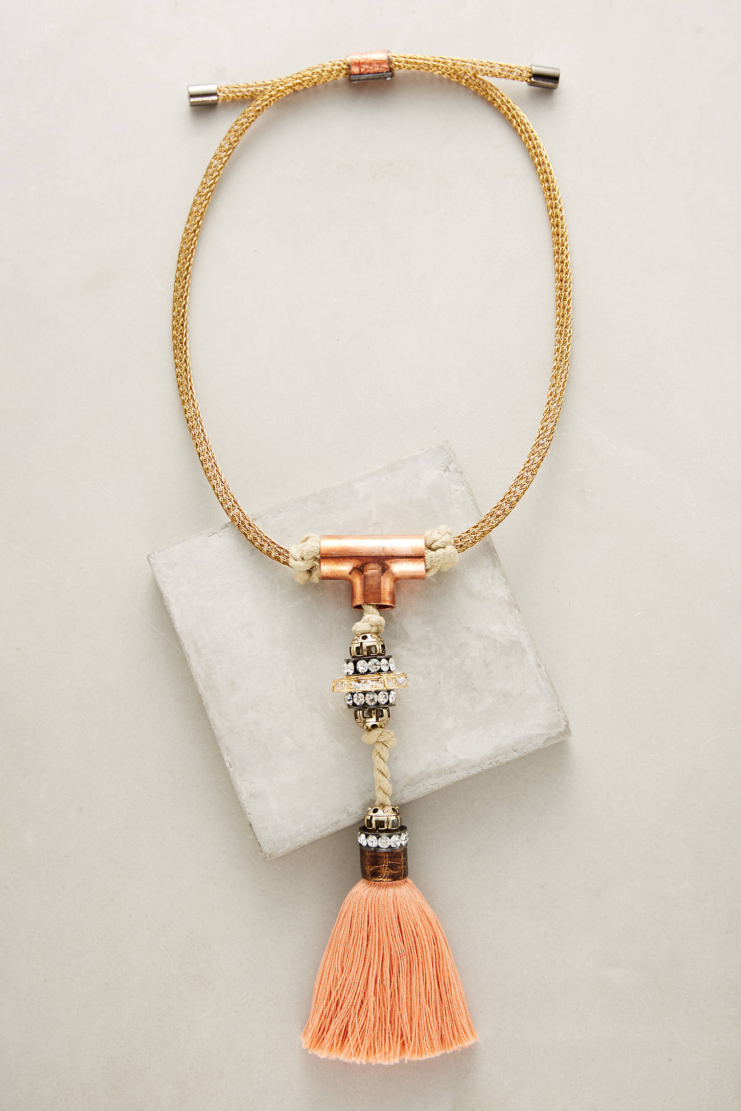 Santorini Tassel Necklace