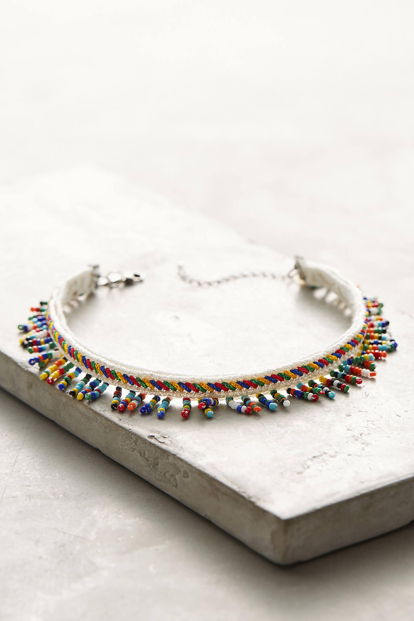 Willa Beaded Choker Necklace