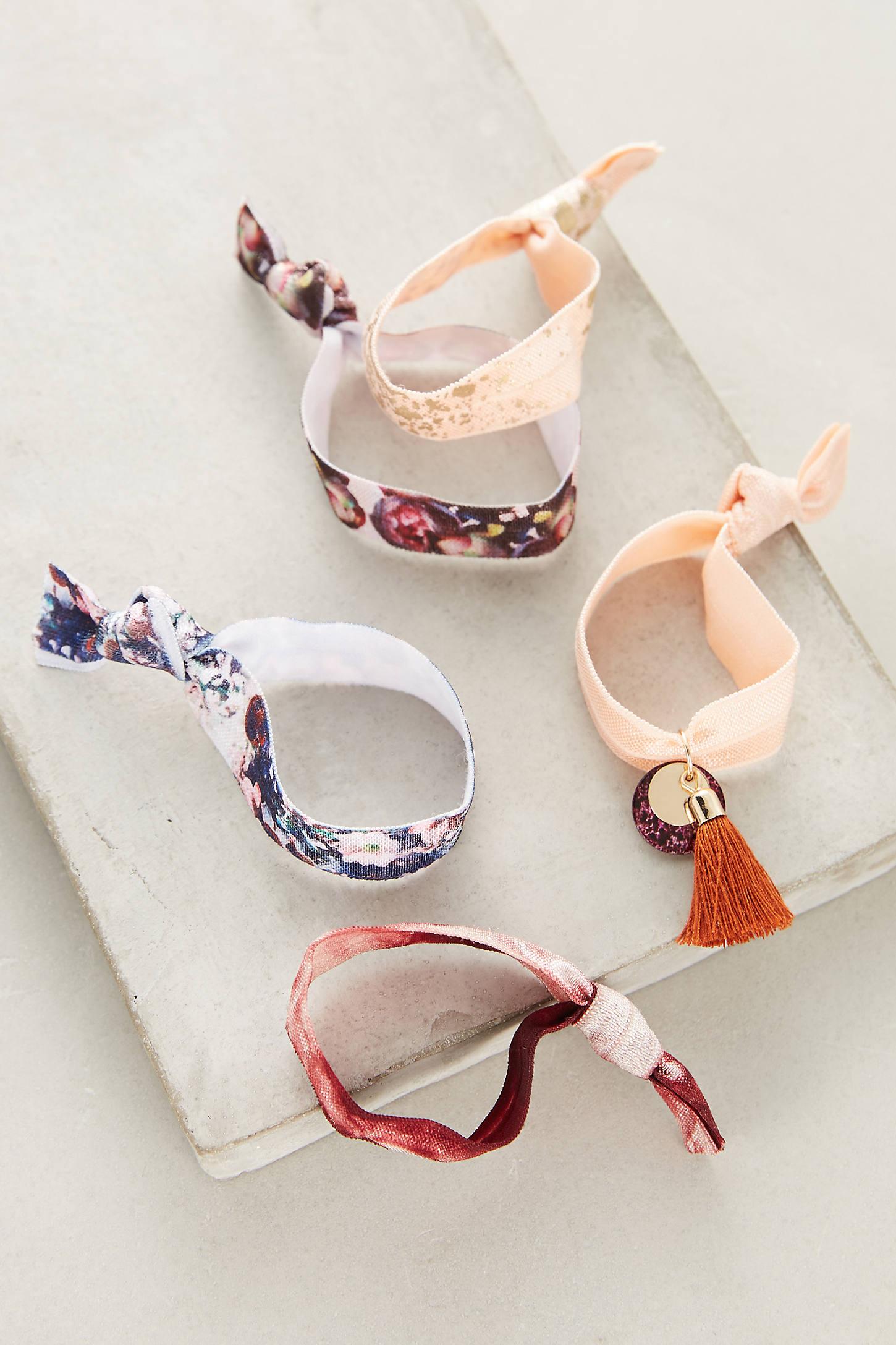 Marbled Hair Tie Set