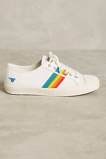 Gola Rainbow Stripe Sneakers