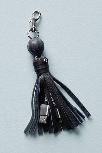 Tasseled iPhone USB Cord