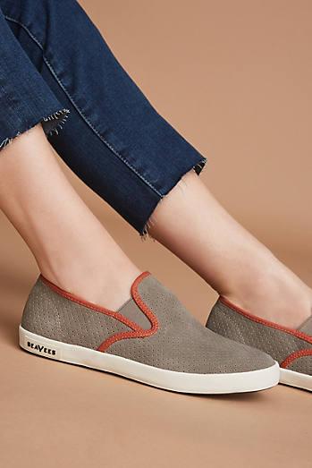 SeaVees Baja Varsity Slip-On Sneakers