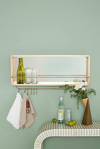 Bushwick Mirrored Shelf