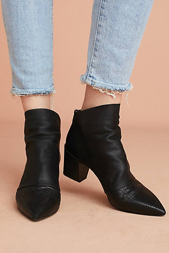 Coclico Jaci Textured Ankle Boots
