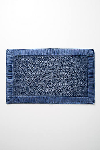 Damask Bath Mat
