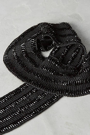 Beaded Wrap Belt