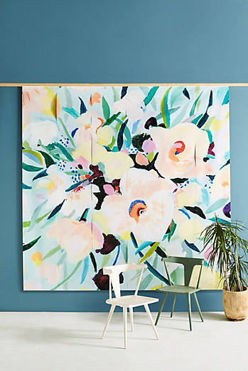 Picturesque Florals Mural