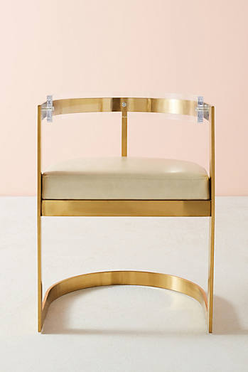 Oscarine Lucite Dining Chair