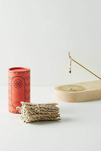 Cedar Rope Incense Tube