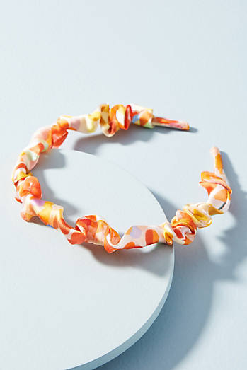 Silk Ruffles Headband