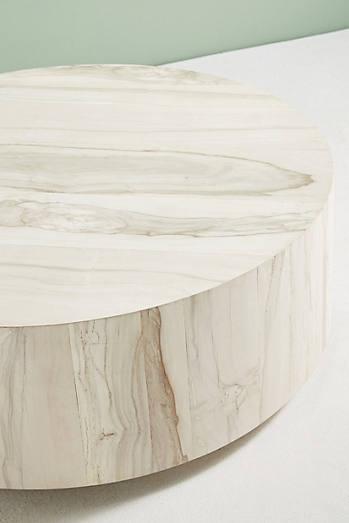 Swirled Drum Coffee Table
