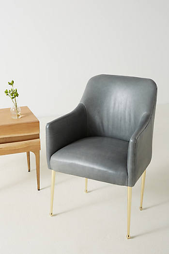 Premium Leather Elowen Armchair