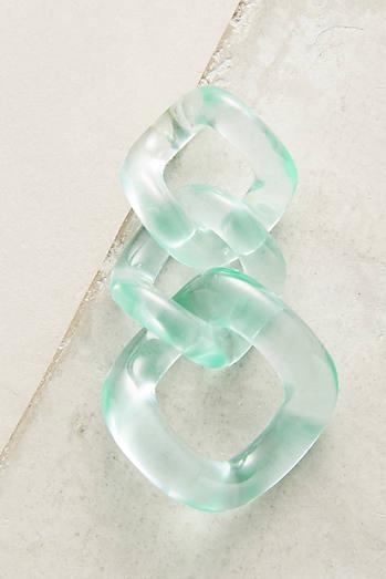Looped Lucite Earrings