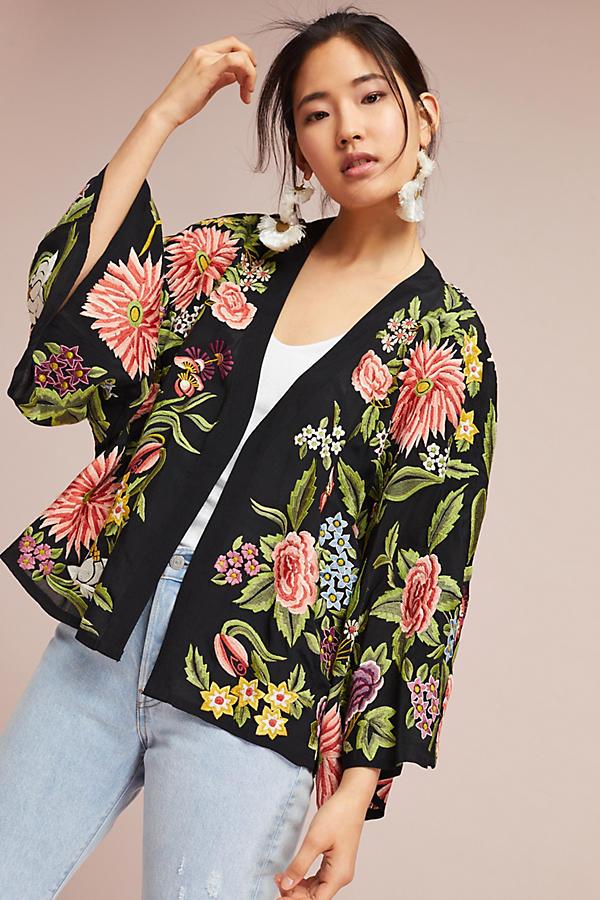 Montana Embroidered Kimono