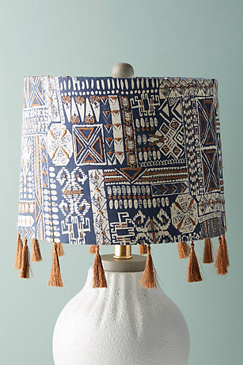 Fringed Nurata Lamp Shade