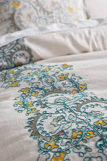 Embroidered Layton Duvet