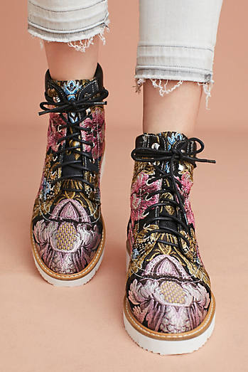 Shelly's London Erin Brocade Boots