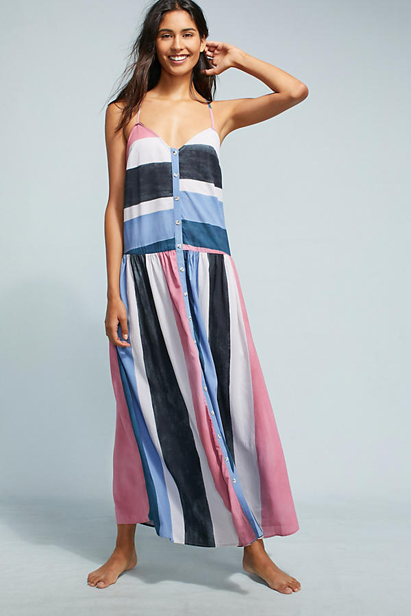 Mara Hoffman Phoebe Colorblock Cover-Up