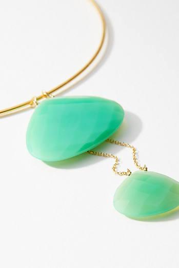 Selene Stone Collar Necklace