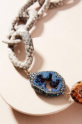Python Link Collar Necklace