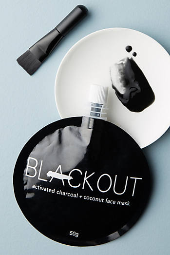 Blackout Activated Charcoal & Coconut Face Mask