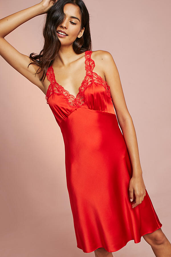 Stella McCartney Eloise Silk Chemise
