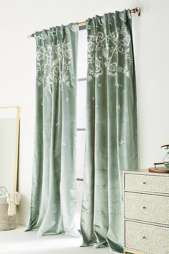 Embroidered Elondra Curtain
