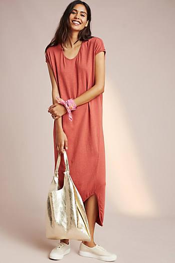Sundry Asymmetrical Midi Dress