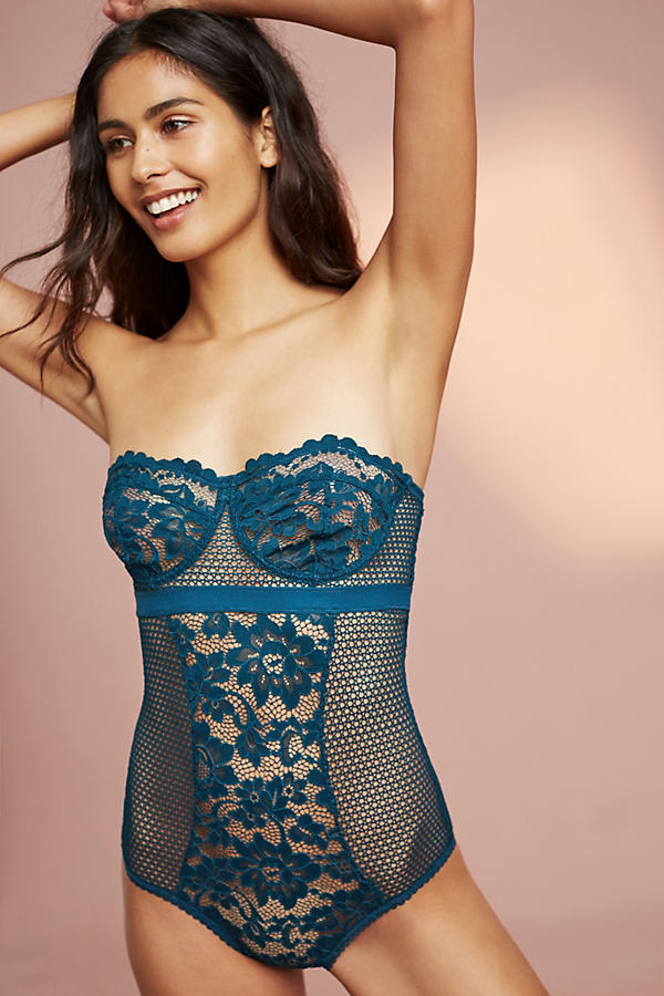 Else Petunia Strapless Bodysuit