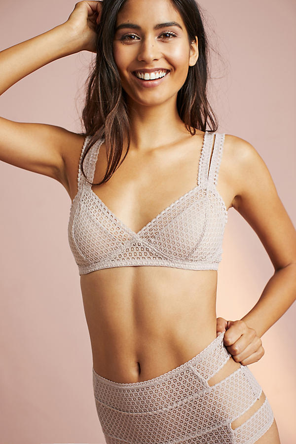 Else Pointelle Triangle Bra