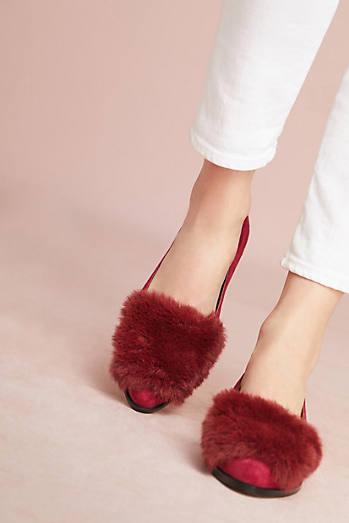 Matiko Pamela Faix Fur Loafers