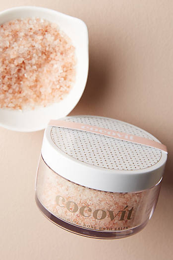 Cocovit Coconut   Rose Bath Salts