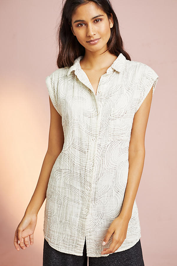 Printed Tunic Shirtdress
