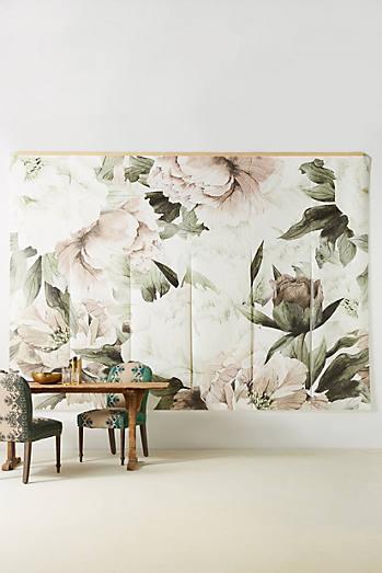 Blush Bouquet Mural