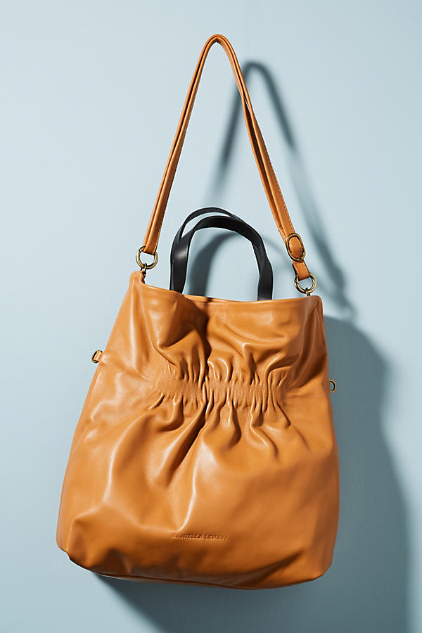 Danielle Lehavi Heidi Ruched Tote Bag