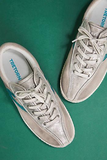 Tretorn Metallic Sneakers
