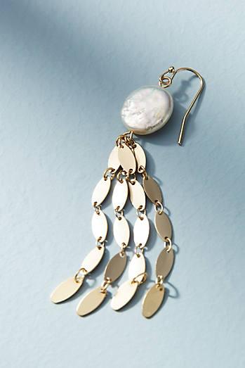 Freshwater Fringe Drop Earrings