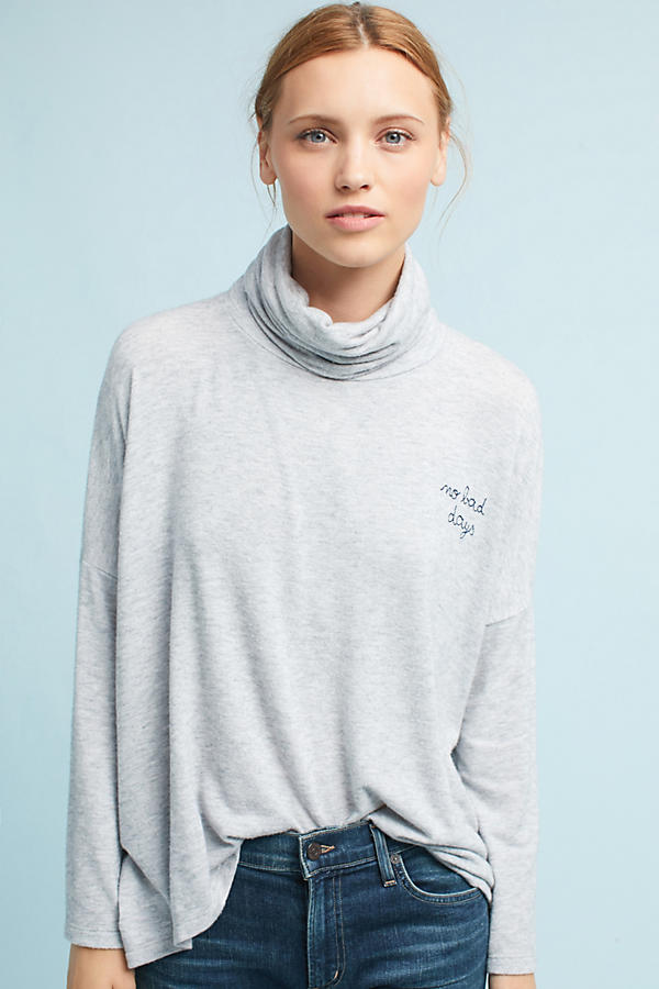 Sundry No Bad Days Turtleneck