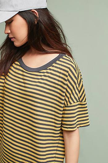 Stateside Striped T-Shirt Dress