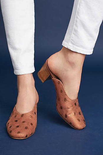 Anthropologie Sweetheart Mules