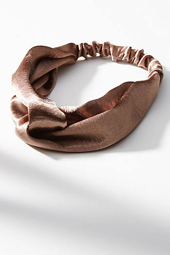 Knotted Shimmer Headband