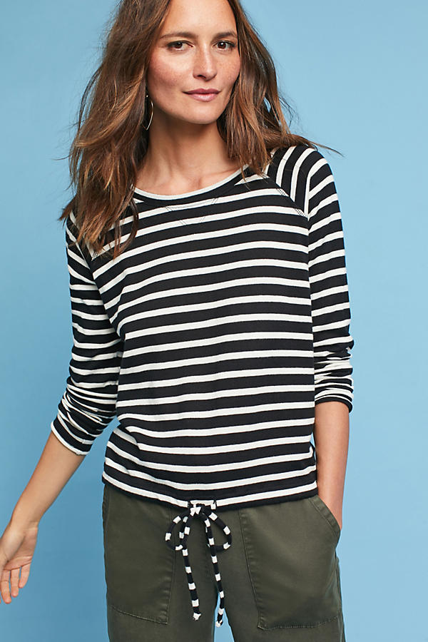 Ballet Striped Top