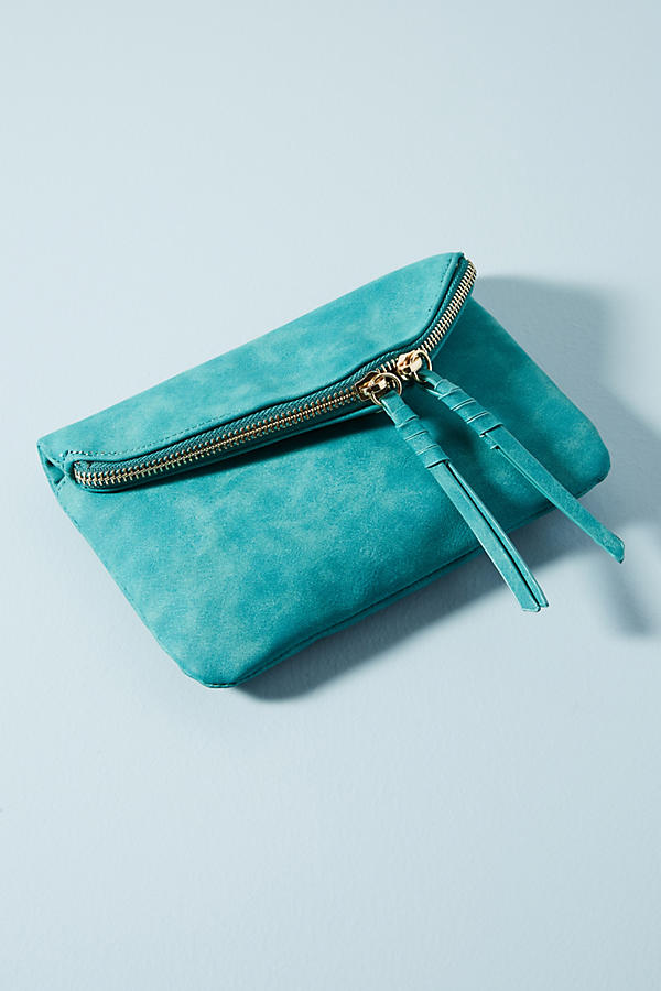 Zippered Mini Envelope Clutch