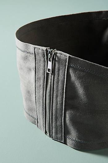 Canvas Corset Belt