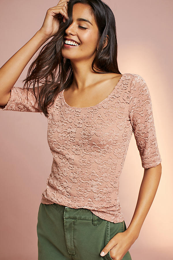 Lace Layering Tee