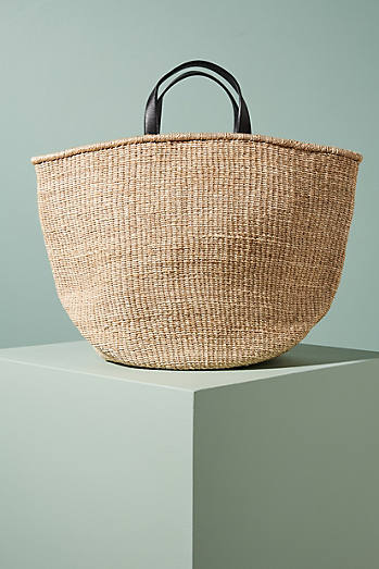 Dragonfly Wicker Tote Bag